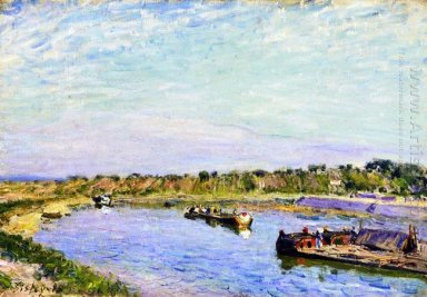 the port of saint mammes morning 1885