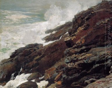 High Cliff, Coast of Maine