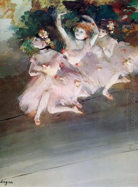 three ballet dancers 1879