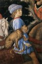Procession Of The Magus Caspar Detail 1461 5