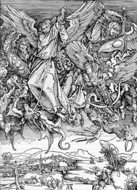 st michael fighting the dragon 1498