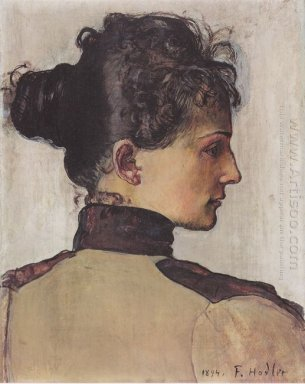 Portrait Of Berthe Jacques 1894