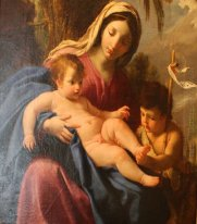 The Virgin and Child with Saint John the Baptist