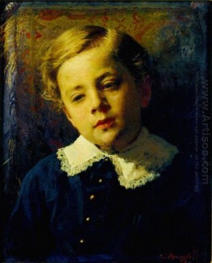 Portrait Of Sergei Kramskoy The Artist S Son 1883