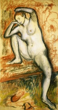 nude study of a dancer 1902