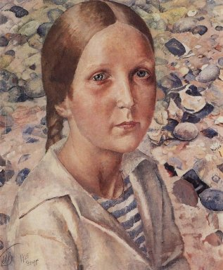 The Girl On The Beach 1925