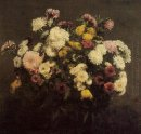 Large Bouquet Of Crysanthemums 1873