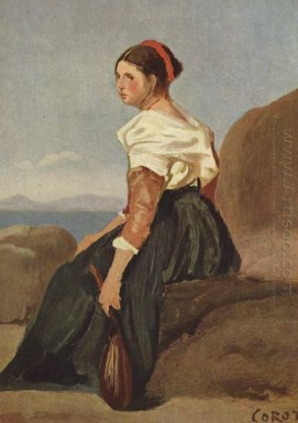 Woman With Mandolin 1828