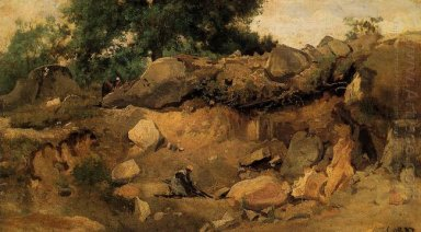 Quarry Of The Chaise Mre At Fontainebleau