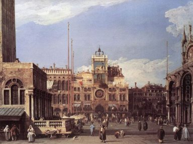 piazza san marco the clocktower 1730