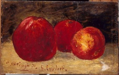 Three Red Apples 1871