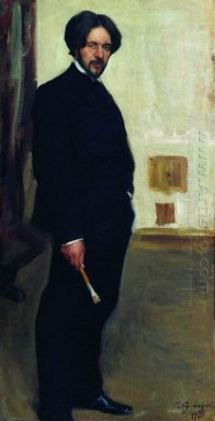 Portrait Of D F Bogoslovsky 1900