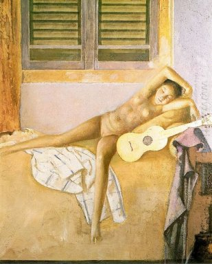 Nude With A Guitar 1986