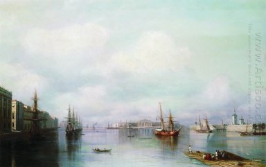 View Of Peterburg 1888