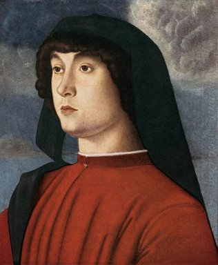 Portrait Of A Young Man In Red 1490