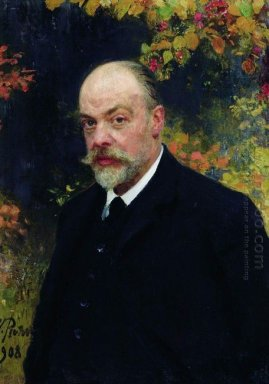 Portrait Of Kryuchkov 1908