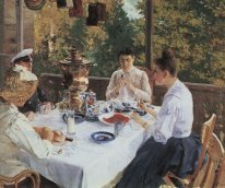 At The Tea Table 1888