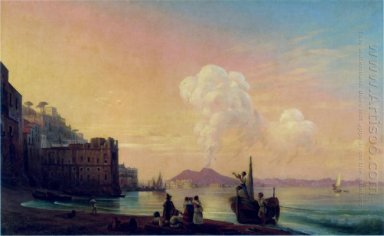 Bay Of Naples 1845