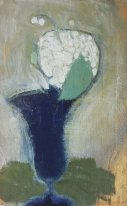 Lilies of the Valley in a Blue Vase II