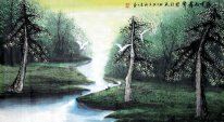 Water and Forest - Shumu - Chinese Painting