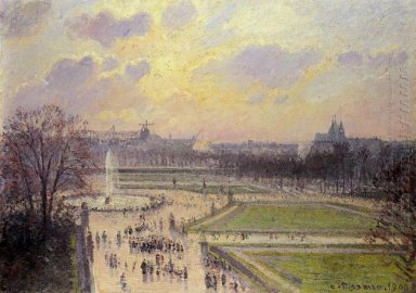 the bassin des tuileries afternoon 1900