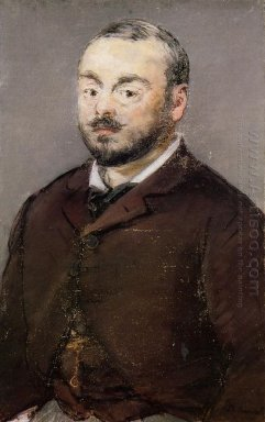 portrait of composer emmanual chabrier
