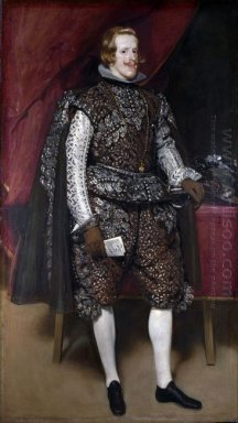Philip Iv Of Spain In Brown And Silver 1632
