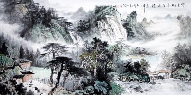 Winter Mountain - Chinese Painting