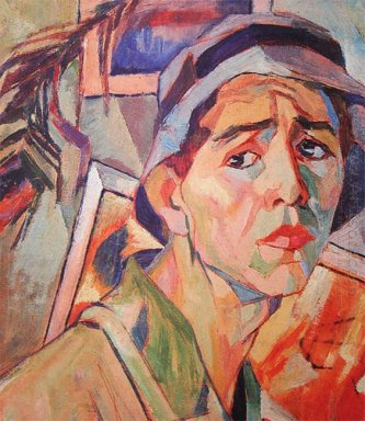 self portrait in panama 1930