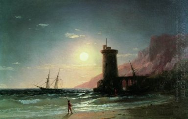 Seascape With Moon 1849