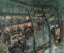 Paris Cafe De La Paix 1906