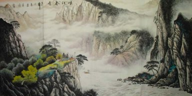 Mountain and water - Chinese Painting