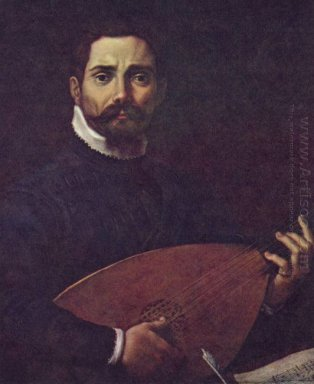 portrait of giovanni gabrieli with the lute