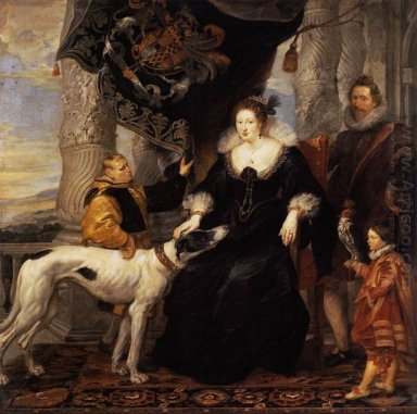 Portrait of Lady Arundel with her Train 1620