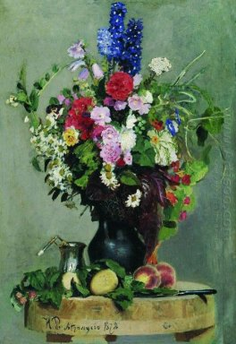 Sebuah Bouquet Of Flowers 1878