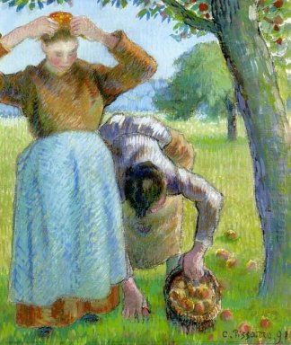 apple gatherers 1891