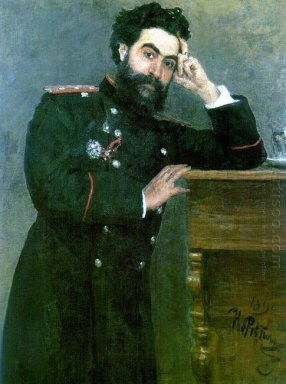 Portrait Of I R Tarhanov 1892