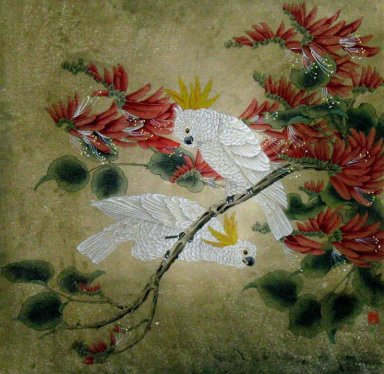 Parrot - Chinese Painting