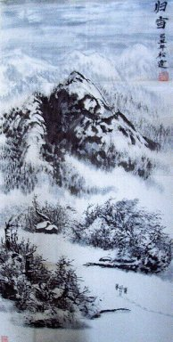 Snow - Chinese Painting