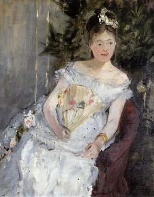 Portrait Of Marguerite Carre Also Known As Young Girl In A Ball