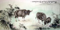 Cow - Chinese Painting