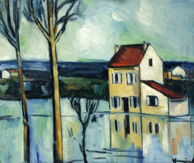 House On The Banks Of A River 1909