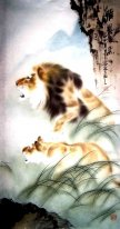 Lion - Chinese Painting