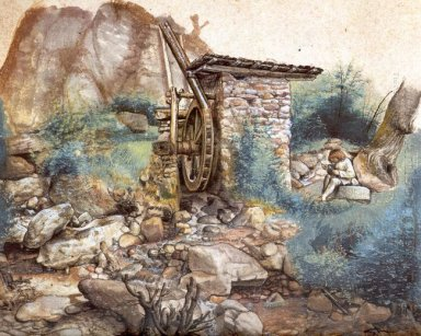 watermill at the monta?81a