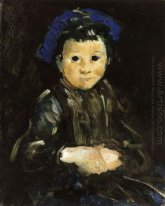 Boy with Blue Cap