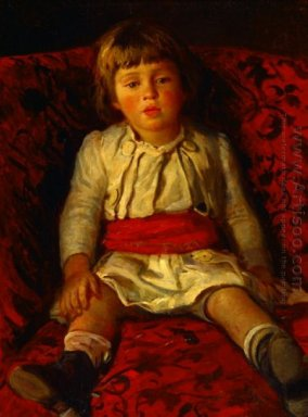 Portrait Of Nikolay Ge The Artist S Grandson
