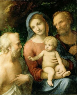 The Holy Family With Saint Jerome 1519