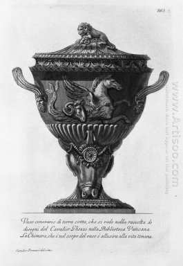 Terracotta Urn Vase You See In The Collection Of Drawings Of Cav