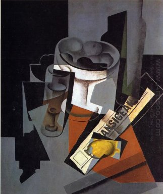Still Life With Newspaper 1916 1