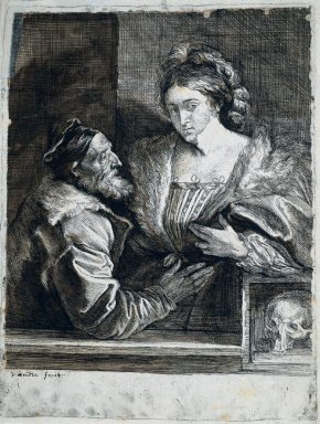 titian s self portrait with a young